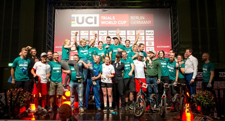 UCI Trials World Cup 2018, Round #4 Berlin, Germany